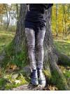 Leggings, silver