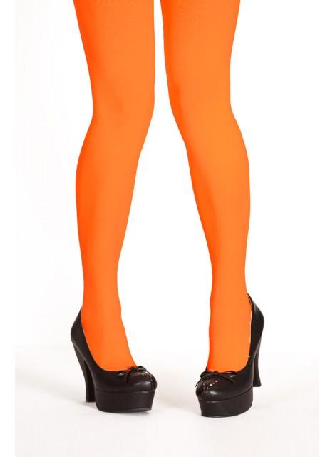 Orange strumpbyxor