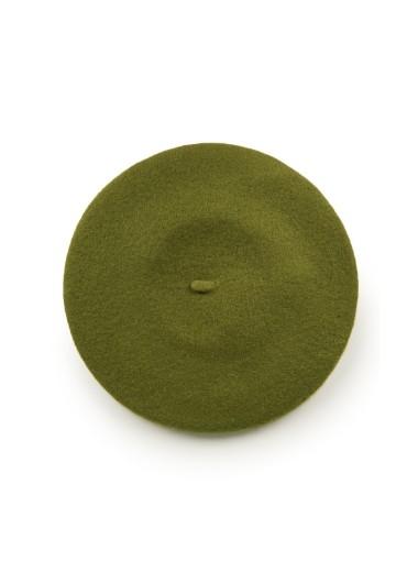 Basker i ull, grön