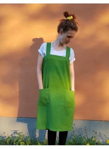 Förkläde Grön. S-3XL