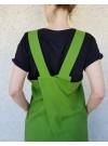Förklädesklänning, Grön. S-3XL