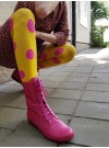 Kängor rosa