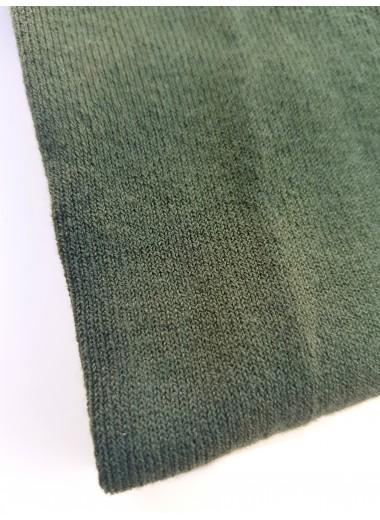 Grön, stickade strumpbyxor