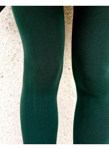 Bomull strumpbyxor mörkgrön