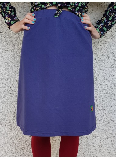Elastisk kjol, turkos. S-XXXL