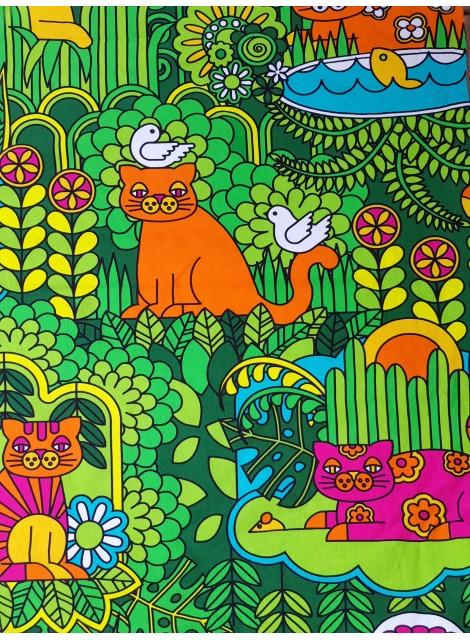 Katt-tyg stor