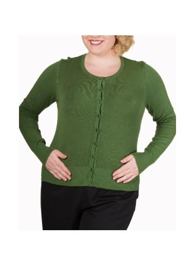 Grön kofta, plus size