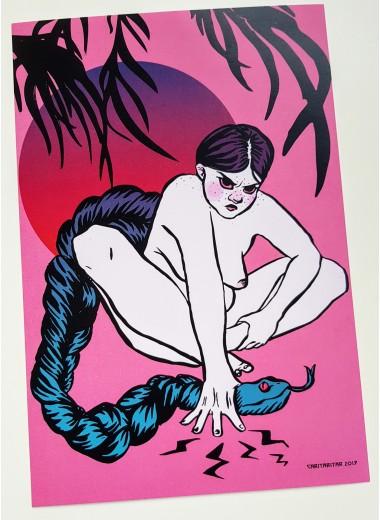 Medusa. Print A4