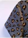 Glitter-leopard. Trikåklänning
