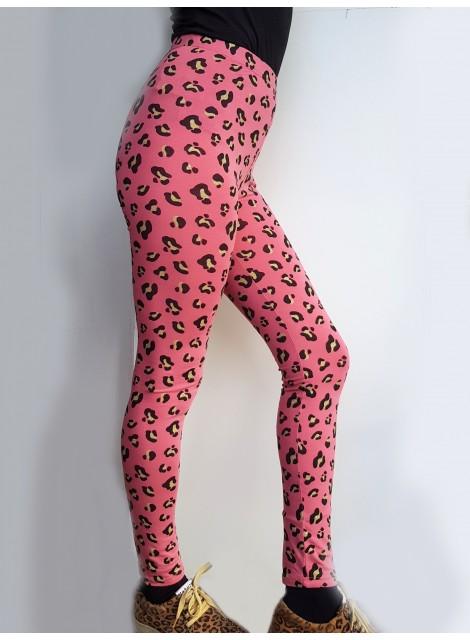 Glitter leopard. Leggings. S-2XL