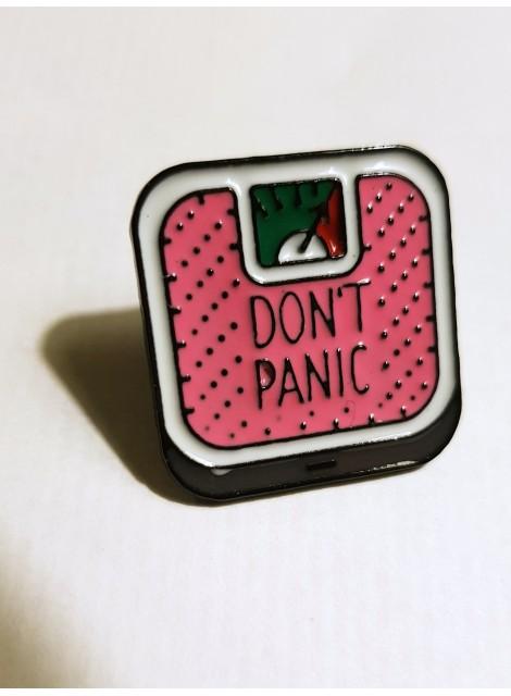 Pin. Don´t panic