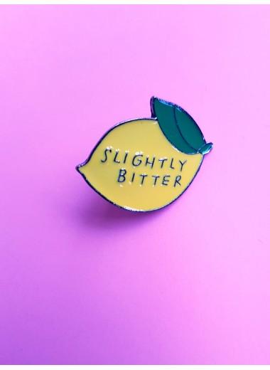 Slightly bitter. Pin