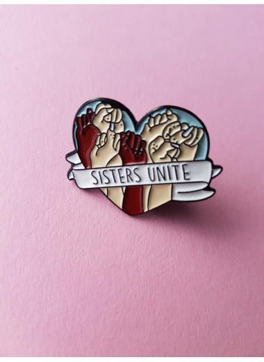 Sisters unite, pin