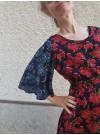 2 x Ros, Volangklänning