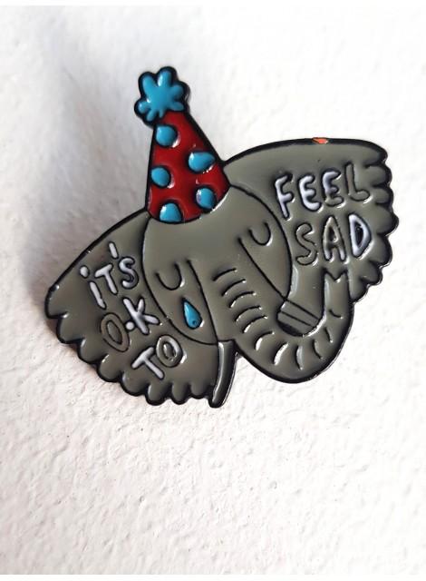 Pin: it´s ok to feel sad