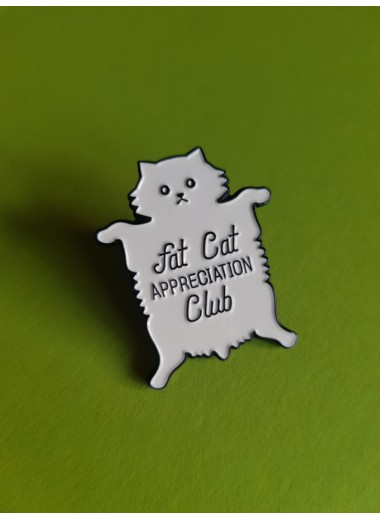 Pin. Fat cat appreciation club