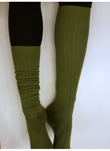 Knästrumpor, gröna