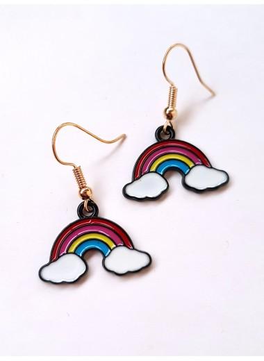 Regnbåge örhängen