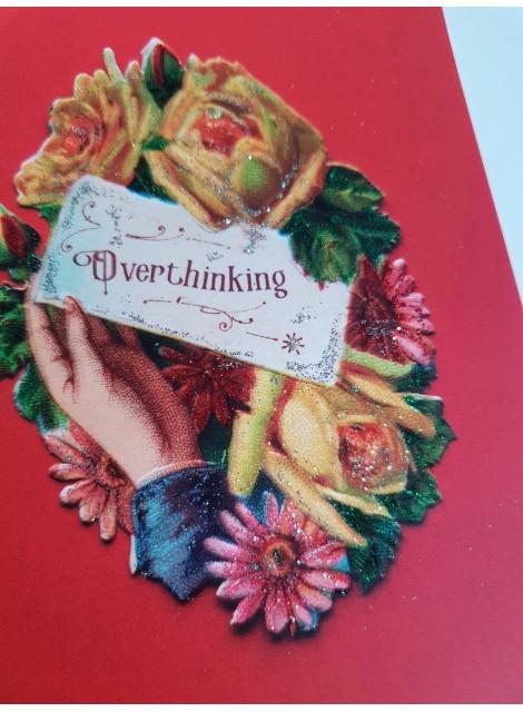 Overthinking, bokmärkeskort