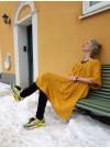 Klänning Vattenfall Gul/guld