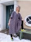 Klänning Vattenfall Grå/guld