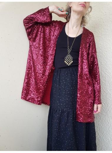 Paljett Kimonojacka