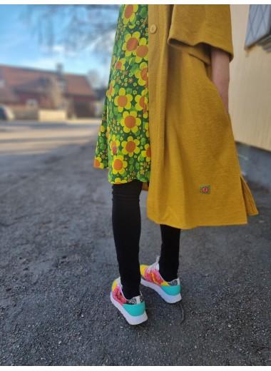 Gul vårkappa /kimono