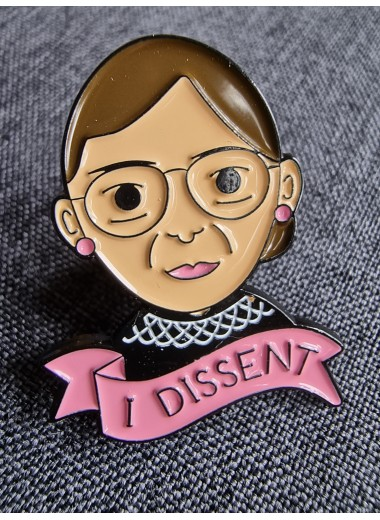 Ruth Bader Ginsburg, pin