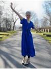 Kornblå, klänning Linnea