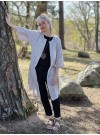 Off white kimono i muslin