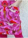 Simmerskor, trikåklänning