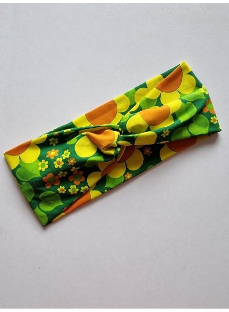 Solblomma gul. Pannband