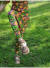 Rosa Solblomma Leggings
