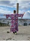 Lång kimono, paisley