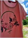 Feminist T-shirt , rosa. M-3XL