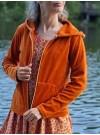 Munkjacka Orange velour