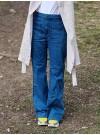 Utsvängda jeans
