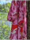 Kimono: Kvinnor som vågar, rosa