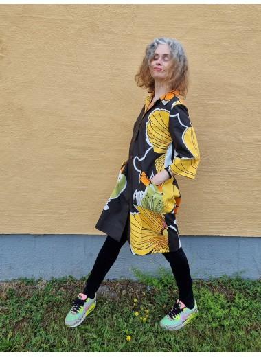 Rockklänning Björnlunda Brun