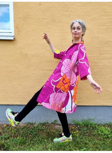Rockklänning Björnlunda rosa
