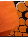 Orange. Ekologiska bomullsstrumpbyxor