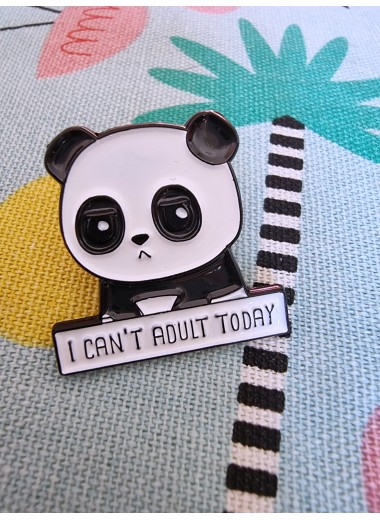 Pin: I can´t adult today