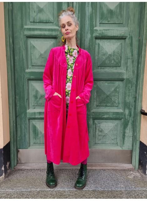 Diva: klänning/morgonrock Cerise velour