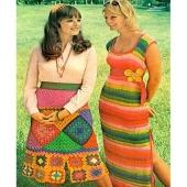 Äntligen är det fredag på riktigt igen. #färggladfredag #1972 #virka #70sfashion