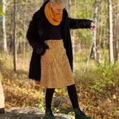 Ni vet ju hur mycket jag tycker om velour. Så jaa... det råkade visst bli några kjolar i velour också. 🥰 Lite längre, gosmjuka.